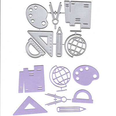 Stationery Ruler Metal Cutting Dies Stencils for DIY Cards Scrapbooking Decor MA