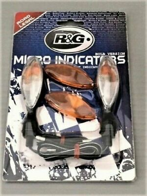 R&G motorcycle led type micro indicator lights front or rear fitment turn signal