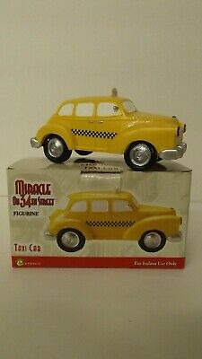 Enesco Miracle on 34th Street Taxi Cab 4014957E Mint in Box