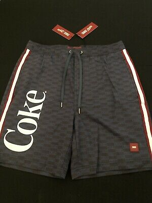 572350b18bd8e Kith x Coke Collab Unreleased Navy Blue Swim Trunks Size S New Tildan Very  Rare