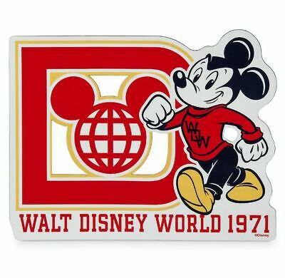 Walt Disney World Retro Mickey Mouse Varsity Car Auto Magnet Disney Parks New