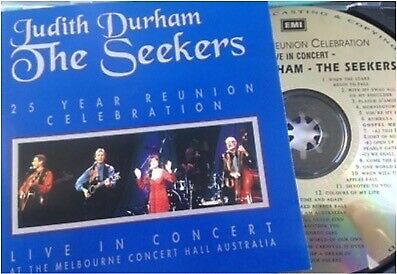 JUDITH DURHAM / THE SEEKERS 25 Year Reunion Celebration Live CD 1993 EMI AS NEW!