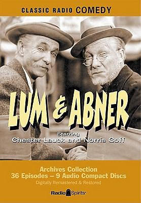 Lum & Abner-Old Time Radio, , Good