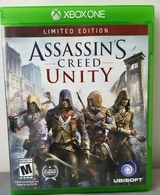 Assassins Creed Unity Limited Edition Xbox One New