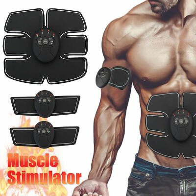 Electronic Wireless Muscle Toner and Abs Stimulator EMS Abdominal Trainer Belt