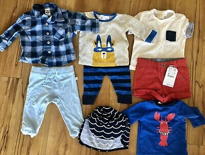 Baby Boy 8 Piece Bundle Size 00 (3-6 months) Brand New Unworn