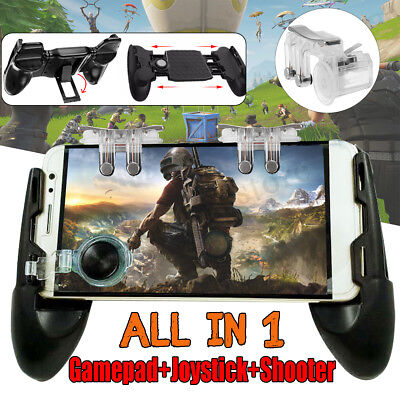 For PUBG Controller Mobile Game Shooter Trigger Fire Button +Game Pad +Joystick