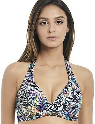 d83418948140d Freya Hot in Havana Bikini Top Underwired Halterneck 2901 Womens Swimwear  Multi