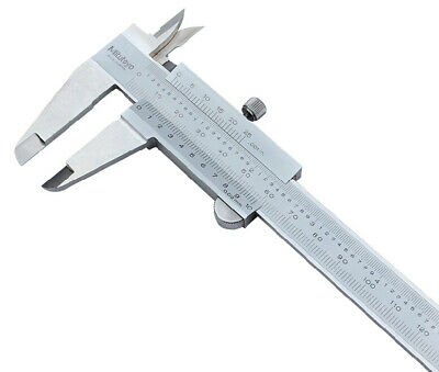 Japan Mitutoyo 530-118 Vernier Caliper Metric Inch Range 0-200mm 0-8in 0.02mm