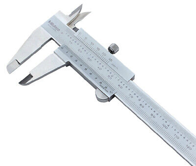 Mitutoyo 530-119 Vernier Caliper Metric Inch Range 0-300mm 0-12in 0.02mm New