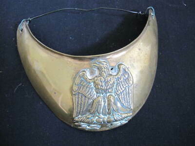French Military Gorget - Napoleonic Period