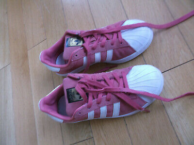 Adidas Superstar Women's/Girls Trainers, F37137, Color Pink/White, Uk 5, Fr 38