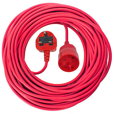 2 Core Electric Mains Power Lead Plug Cable for MCGREGOR Lawnmower 10M Long