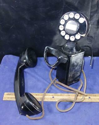 Vintage Space Saver Telephone Western Electric Telephonics Handset 43A G1