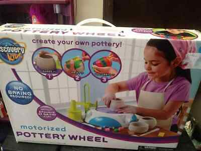 Discovery Kids Motorized Pottery Wheel NIB - No Baking Required