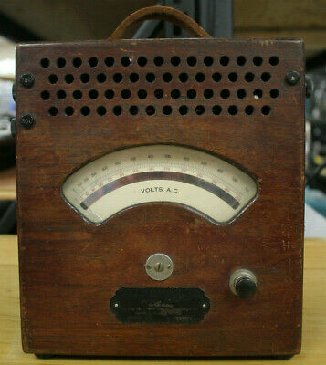 (MA2) VINTAGE - Weston Electrical Instruments Model 155 Volts AC Meter