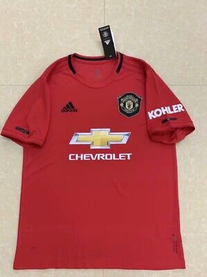 Manchester United Home Shirt 2019/20 Season Home Kit Jersey Man United