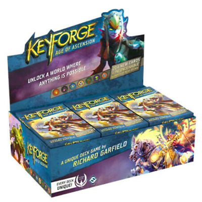 KeyForge Age of Ascension Booster Box Display of 12 Decks Factory Sealed