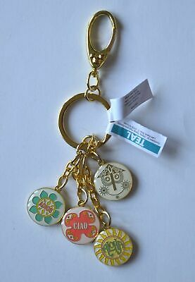 Disney Parks Exclusive 2019 Its A Small World Dangle Keychain BRAND NEW With Tag