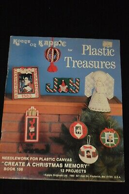NEW KOUNT ON KAPPIE Plastic Canvas Treasures CREATE A CHRISTMAS MEMORY Book 108