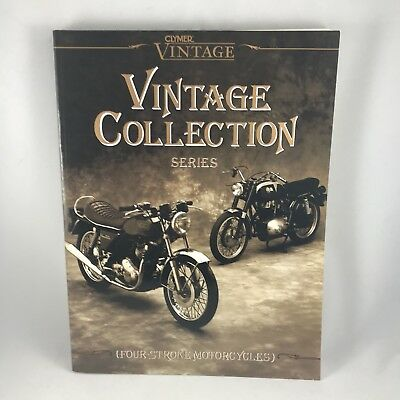 Clymer Vintage Collection Series - Four-Stroke Motorcycle Book