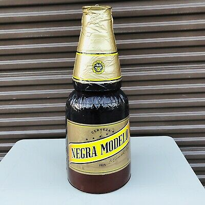 "Modelo Negra Beer Bottle 27'X11""  Inflatable Blow Up Sign New"