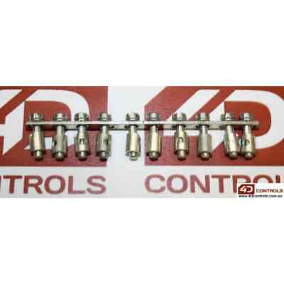 Weidmuller Q10AKZ4 Terminal Block Jumper 10 Way to Suit AKZ4 (Qty 1) - New No...