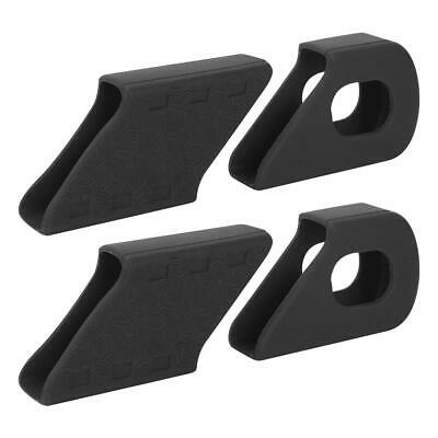 2x ZEFAL UNIVERSAL GREY CRANK ARMOR ARM BOOT BIKE COVER PROTECTION PEDAL PAIR