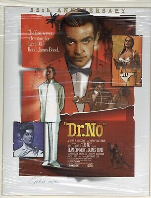 James Bond Ltd Collection: Dr No by Jeff Marshall. Signed & Mounted Print