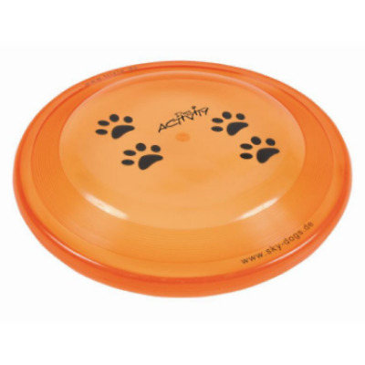 Trixie Dog Activity Disc 23cm A Throwing And Catching Game Dogs Of Any Age Size
