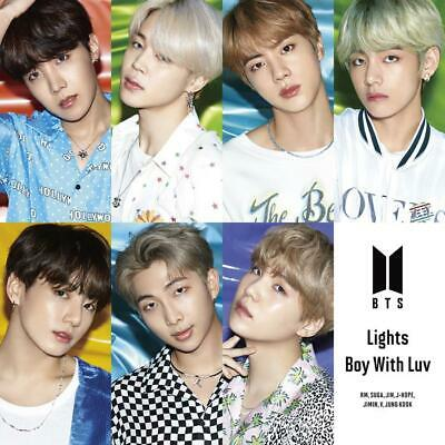 BTS (Bangtan Boys) Japan 10th Single [Lights / Boy With Luv] FC Limited Edition