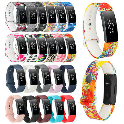 For Fitbit Inspire/Inspire HR Replacement Soft Silicone Wrist Band Strap S / L