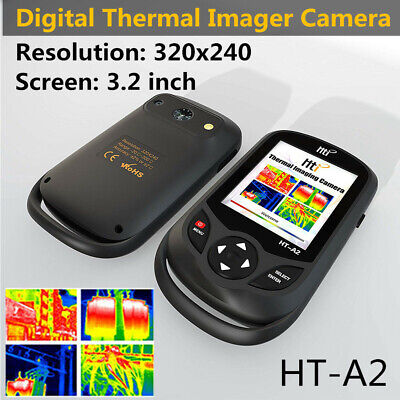 "HT-A2 320x240 IR Thermal Imaging Camera 3.2"" LCD Imager, Inspection, Hunting"