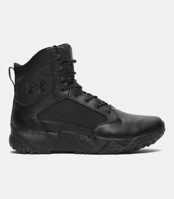 Under Armour MEN'S - UA STELLAR TACTICAL BOOTS - BLACK DWR LEATHER [1268951-001]