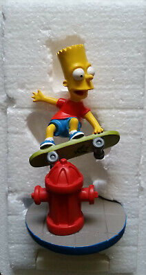 Very Rare Bart Simpson Gang Way Man Hamilton Sculpture Limited Edition Figure