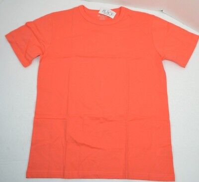 The Children's Place Big Boys Basic S/S Tee T-Shirt, Fusion Orange, XL (14) NEW