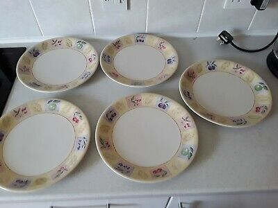 Marks And Spencer Wild Fruits Dinner Plates X 5