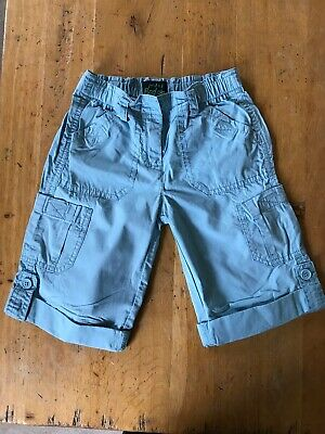 Girls Boden Aqua Cargo Style Shorts / Trousers Age 5-6 Years