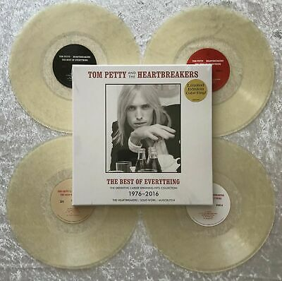 Limited #544 Clear Vinyl Tom Petty and the HeartBreakers The Best of Everything