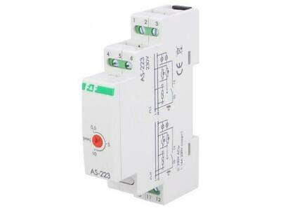 AS-223 Staircase timer 30s10m 230VAC DIN -2050C IP20 10A F AND F