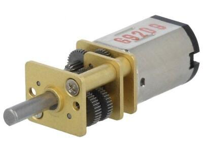 POLOLU-3036 Motor DC with gearbox 6-12VDC HP Carbon Brushes 12V 51 5:1HPCB12V