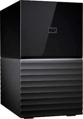 WD - My Book Duo 4TB 2-Bay External USB Type-C Storage - Black