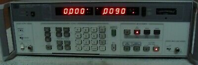 HP AGILENT 8903B 20Hz to 100kHz AUDIO ANALYZER W/OPT & MAN! NIST CALIBRATED!