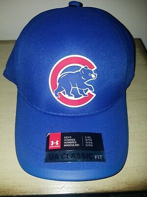 d1c10af59 CHICAGO CUBS UNDER Armour Baseball Cap Hat Fitted Large - X-Large Xl ...