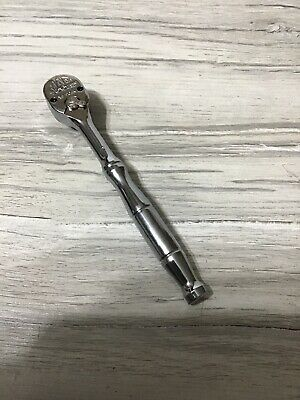 """New, Mac Tools  3/8"""" Dr. 8 In. Axis Steel Handle  Ratchet Xr790Ak Usa #M"""