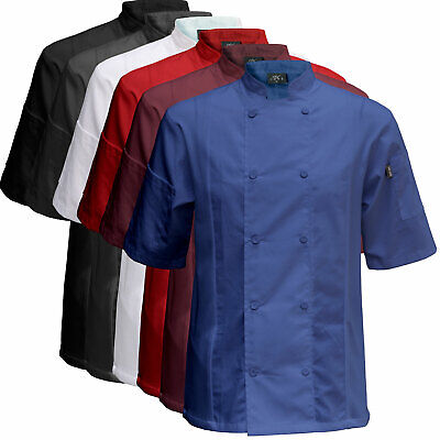 Chef Code Cool Breeze Side Vent Chef Coat CC131