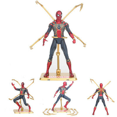 "6"" Marvel Infinity War Avengers Iron Spider Spiderman Tentacles Action Figure"