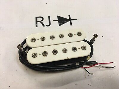80's Dimarzio DP153 FRED Humbucker Guitar Pickup White