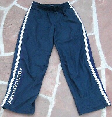 6e7bd80b3b ~*$78 Mens Abercrombie & Fitch (A&F) Navy GYM ISSUE Sweatpants - Size