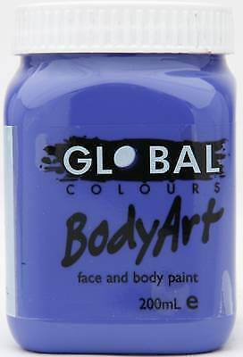 PURPLE - FACE & BODY PAINT - 200ml Jar